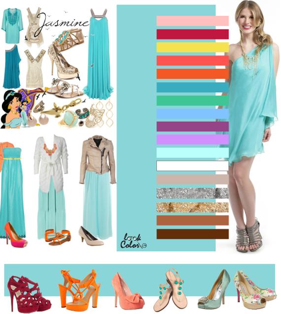 Платье цвета голубой топаз