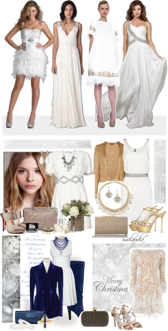 Цвет нового года 2014 белый