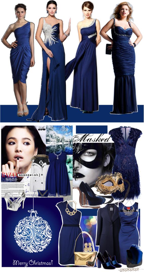 Цвет нового года 2014 синий
