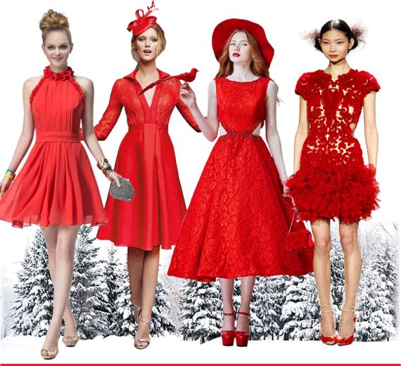 красный - цвет нового 2016 года