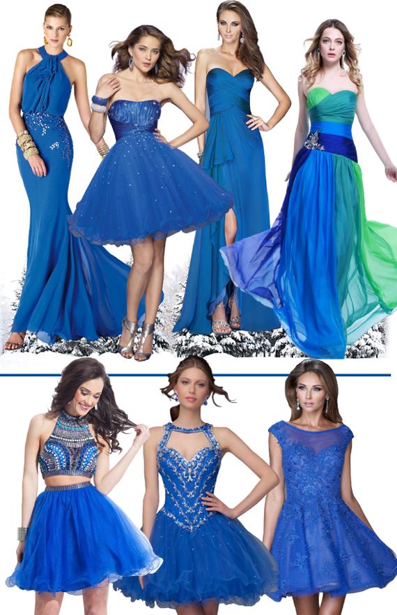 Синий - цвет нового 2016 года