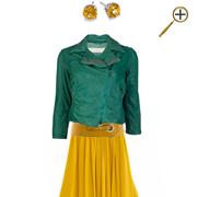 Сочетание желтого цвета и зеленого