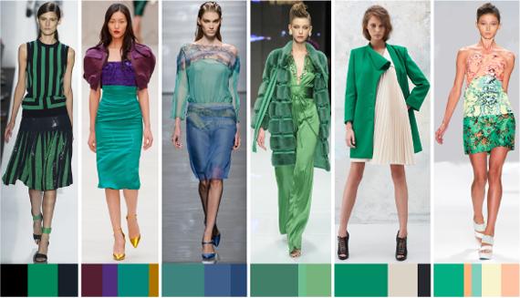 Модные сочетания 2013