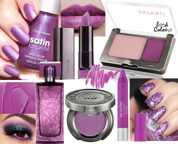 Модный цвет косметики 2014