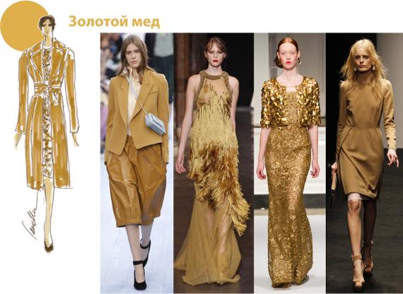 Модный желтый цвет 2012