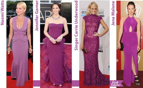 Модные платья звезд 2014