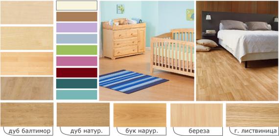 Сочетание цветов обоев и мебели