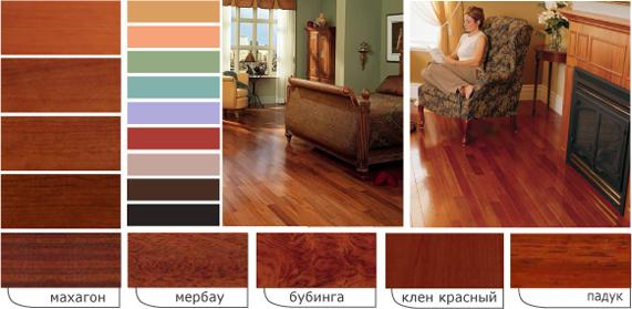 цвета мебели фото: