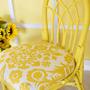 Желтый интерьер
