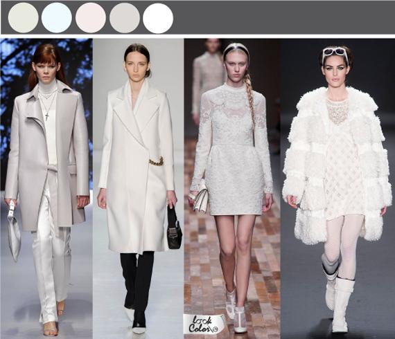 Базовые цвета в одежде. Белый цвет