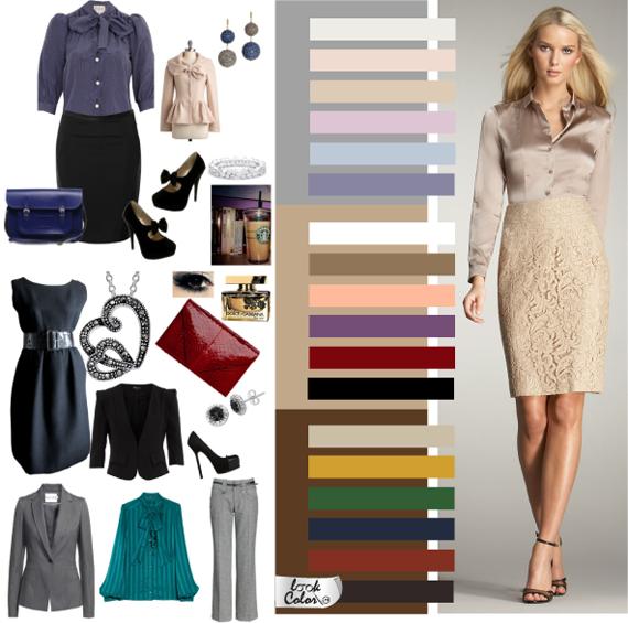Цветовая гамма классического стиля одежды 1d597628dd3