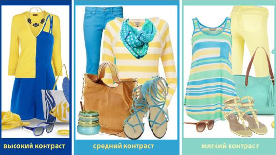 Сочетание цвета в одежде по температуре