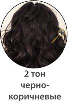 Черно-коричневый цвет волос фото