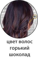 Цвет волос горький шоколад фото
