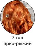 Ярко-рыжий цвет волос