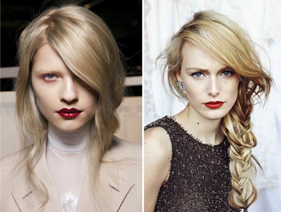 Макияж для девушки с русыми волосами