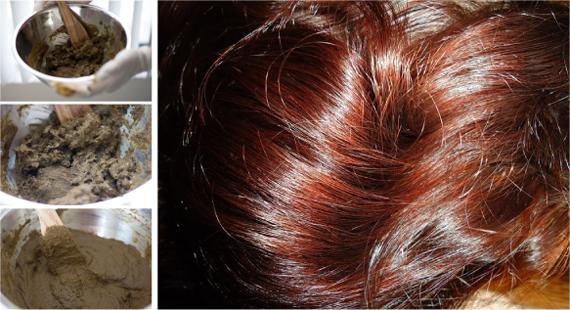 получаемого цвета волос от