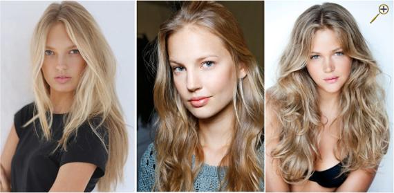 Натуральные оттенки русых волос фото
