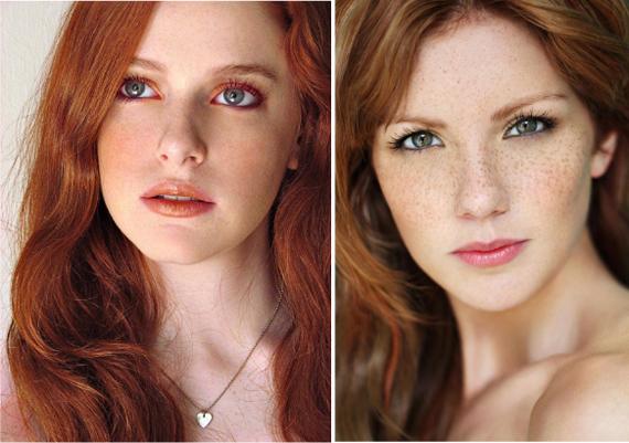 Фото рыжеволосых девушек красивых зелёна глазых фото 412-732