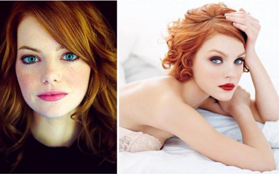 Фото рыжеволосых девушек красивых зелёна глазых фото 412-968