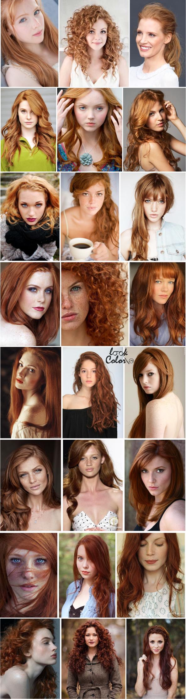 Рыжие худенькие девушки 7 фотография