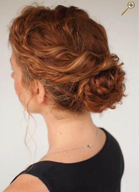 Пучки для рыжих волос