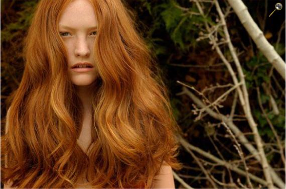 Рыжая сказка. Эстетика рыжих волос