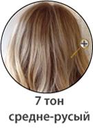 Средне-русый оттенок волос фото