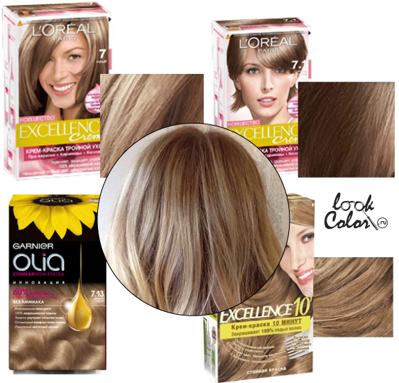 Русые оттенки волос палитра лореаль - на сайте investvin.ru
