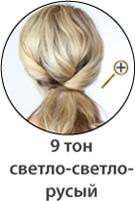 Светло-светло-русый оттенок волос фото