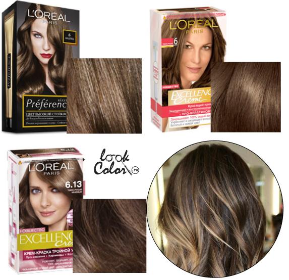 Тёмный русый цвет волос фото до и после