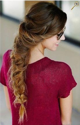 Косы для темных волос