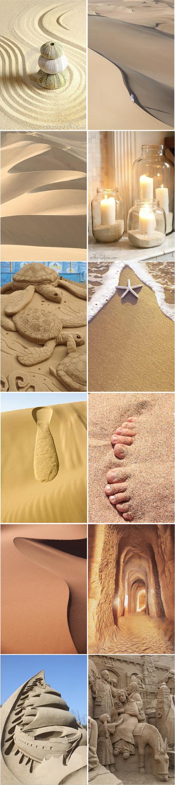 Песочные цвета