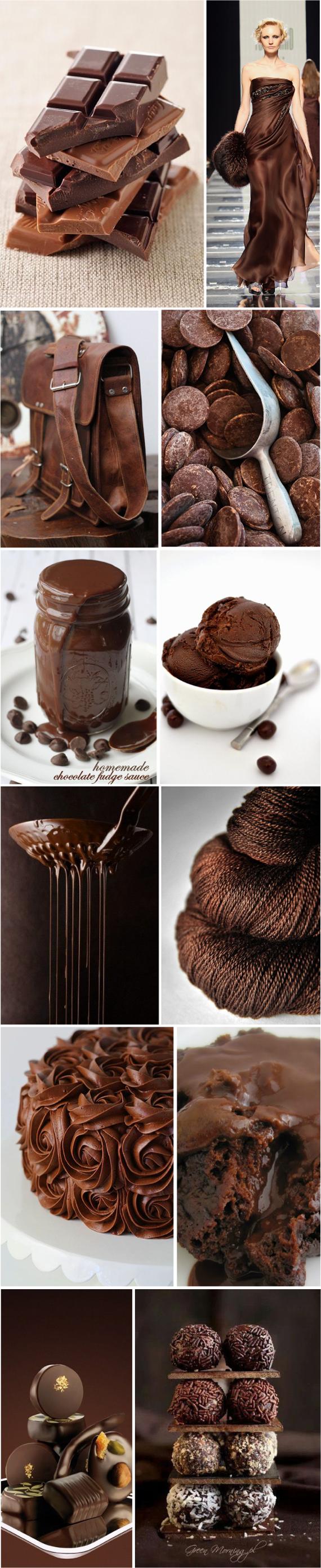 Шоколадные цвета