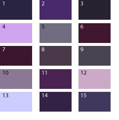 Цвет грязно фиолетовый