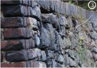 Цвет каменной стены фото