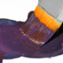 Как получить фиолетовый цвет, смешивая краски