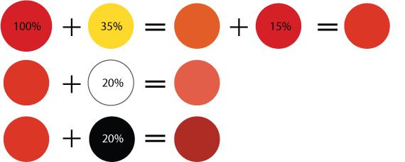 Как сделать темно красный цвет