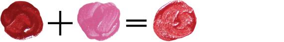Как получить красный цвет, смешивая краски