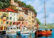 Картина по номерам Дома с выходом к морю