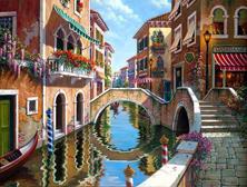 Картина по номерам Каналы в Венеции