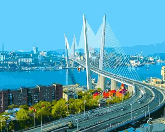 Картина по номерам. Мост Золотой Рог