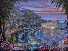 Картина по номерам Остров Каталина