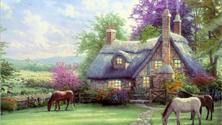 Картина по номерам Пастбище