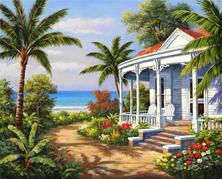 Картина по номерам Пляжная вилла