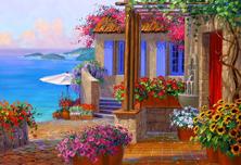 Картина по номерам Солнечный Ревель