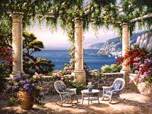 Картина по номерам Кафе над морем