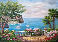 Картина по номерам Терасса у моря