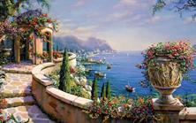 Картина по номерам Терраса на Капри