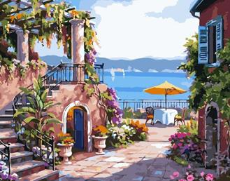 Картина по номерам. Тосканская терраса